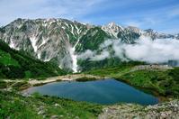 Nagano Prefecture Hakuba summer mountain Happoone climbing Miyama Hakuba and Happoike Stock photo [4540591] White