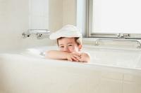 Bathing boy Stock photo [4541067] bath