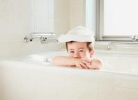 Bathing boy Stock photo [4541070] bath