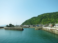 Seto Inland Sea Sanagijima Hon'ura Port landscape of Stock photo [4541751] Shikoku