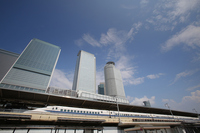 Nagoya Station and Shinkansen 700 system Stock photo [4604254] Bullet