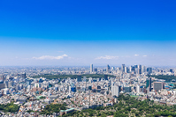 Tokyo blue sky and urban landscape Stock photo [4605071] Tokyo