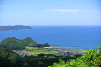 Tsuruga Bay views from the observatory of Suizu parking area Stock photo [4608613] Holy