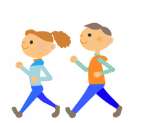 A couple of Walking [4611184] Couple