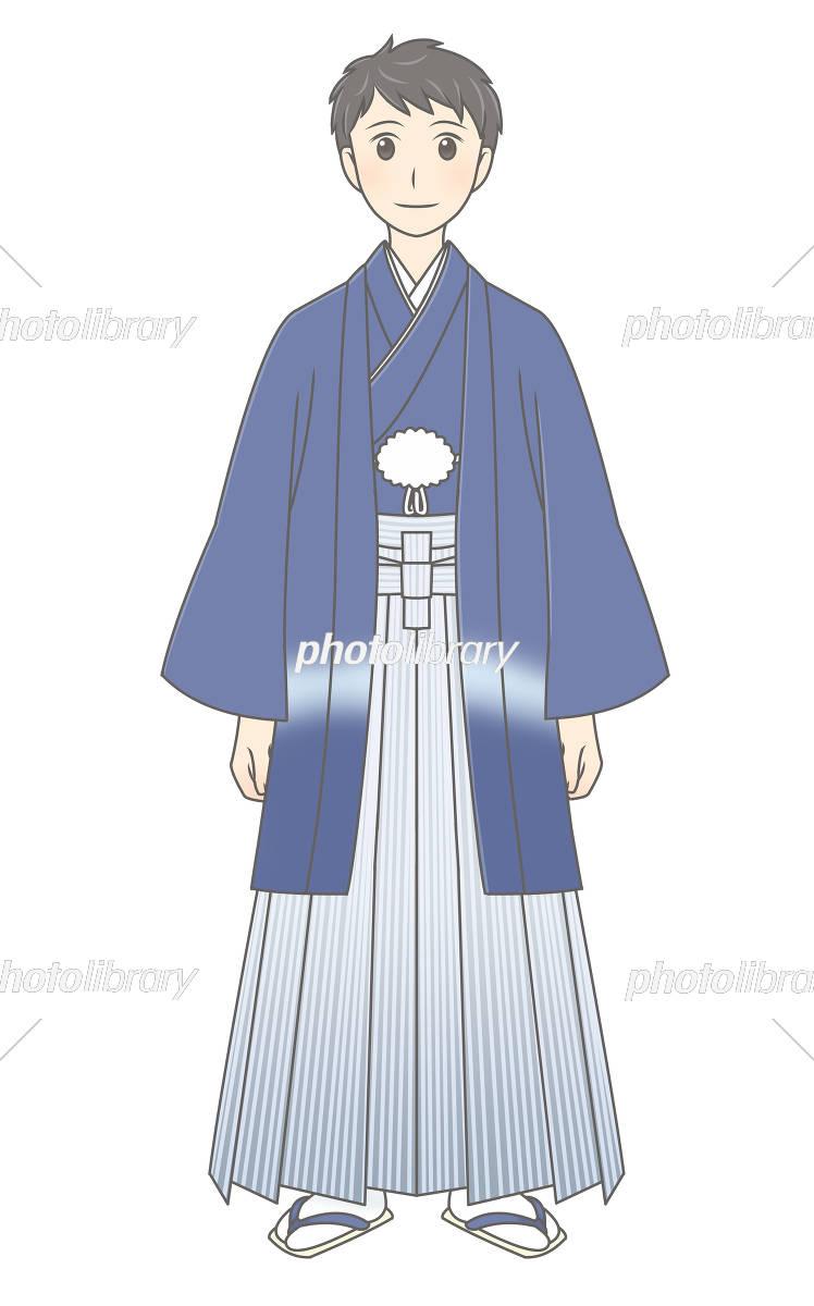 羽織袴の男性 イラスト素材 4674895 フォトライブラリー Photolibrary