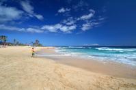 ハワイのサンディービーチ