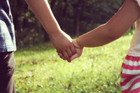 Holding hands brother Stock photo [4672837] Hold