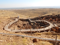 Göbekli Tepe in Turkey Stock photo [4740331] Turkey