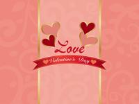 Valentine vintage card [4821359] Valentine