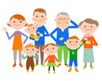 Three-generation family [4822121] Three