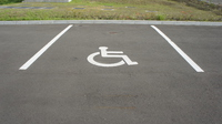 Wheelchair mark Stock photo [4926818] Parking