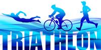 Triathlon of graphic images _ blue [4927861] triathlon