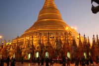 ミャンマーのシュエダゴン・パゴダ
