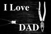 I love dad Stock photo [4930287] I
