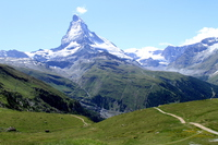 Matterhorn viewed from Gornergrat railway Stock photo [4932744] Matterhorn