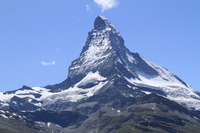 Matterhorn viewed from Gornergrat railway Stock photo [4932758] Matterhorn