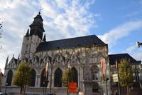 Notre-Dame-de-la-Chapelle church Stock photo [5023844] Belgium