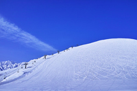 Ski slopes and spurs Stock photo [5026589] Ski