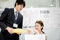 Office / colleague ? Inserting (business image) Stock photo [5031741] Inserting