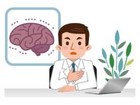 イラスト Doctor explaining the brain disease(5115157)
