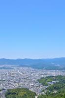 写真 Scenery in Kyoto city seen from capital mountain(5115232)
