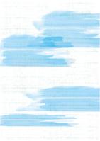 イラスト Light blue Japanese patterned brush(5115393)