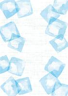 イラスト Light blue Japanese ice white(5115398)