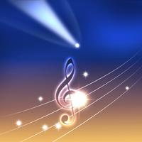 イラスト Music score starry sky(5115546)