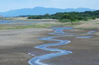写真 River flowing in tideland(5116012)