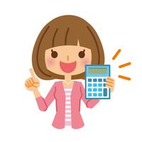 イラスト Female calculator(5116544)