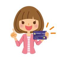 イラスト Female credit card(5116552)