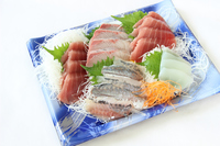 写真 Five pieces of raw fish sashimi(5117058)