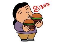 イラスト Eating girls(5117998)