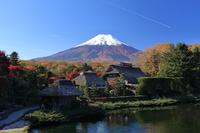 写真 Fuji seen from Oshino Village(5119190)