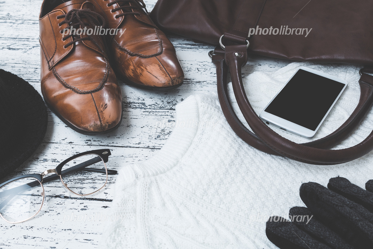 男性ファッション小物 写真素材 [ 5203115 ] , フォトライブ