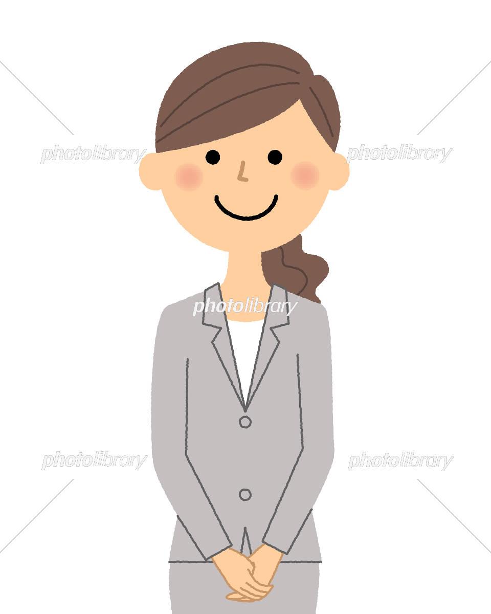 ガッツポーズのイラストスーツ かわいいフリー素材集 いらすとや