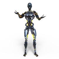 イラスト Metallic Robot(5202233)