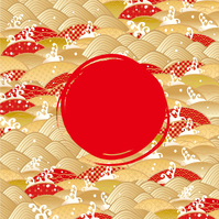 イラスト Waka Rika luxury red sun(5202813)