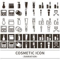 イラスト Cosmetic icon set(5202887)