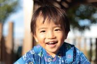 A yukata 's boy  Photo