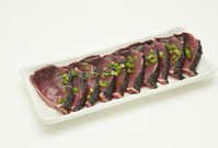 Bonito sliced \eel  Photo