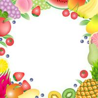 イラスト Fruit fruit frame(5204113)