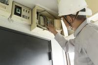 写真 Confirmation of telecommunications terminal wiring(5204709)