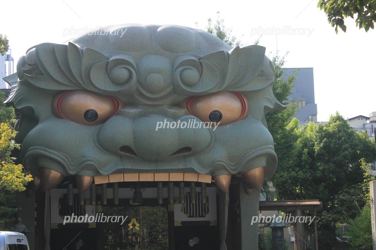 難波 八坂 神社
