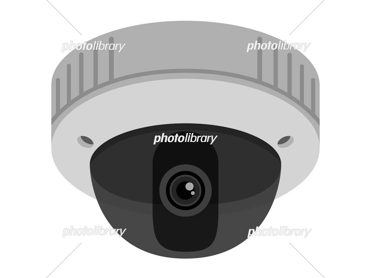 防犯カメラ イラスト素材 [ 5311405 ] - フォトライブラリー photolibrary