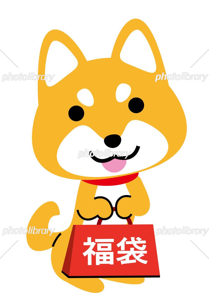 戌年 福袋 イラスト素材 5311923 フォトライブラリー Photolibrary
