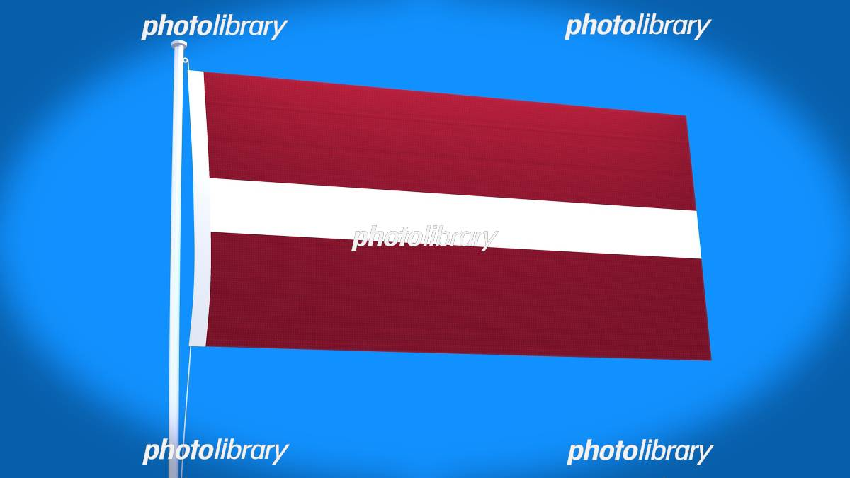 ラトビア国旗 イラスト素材 [ 53...