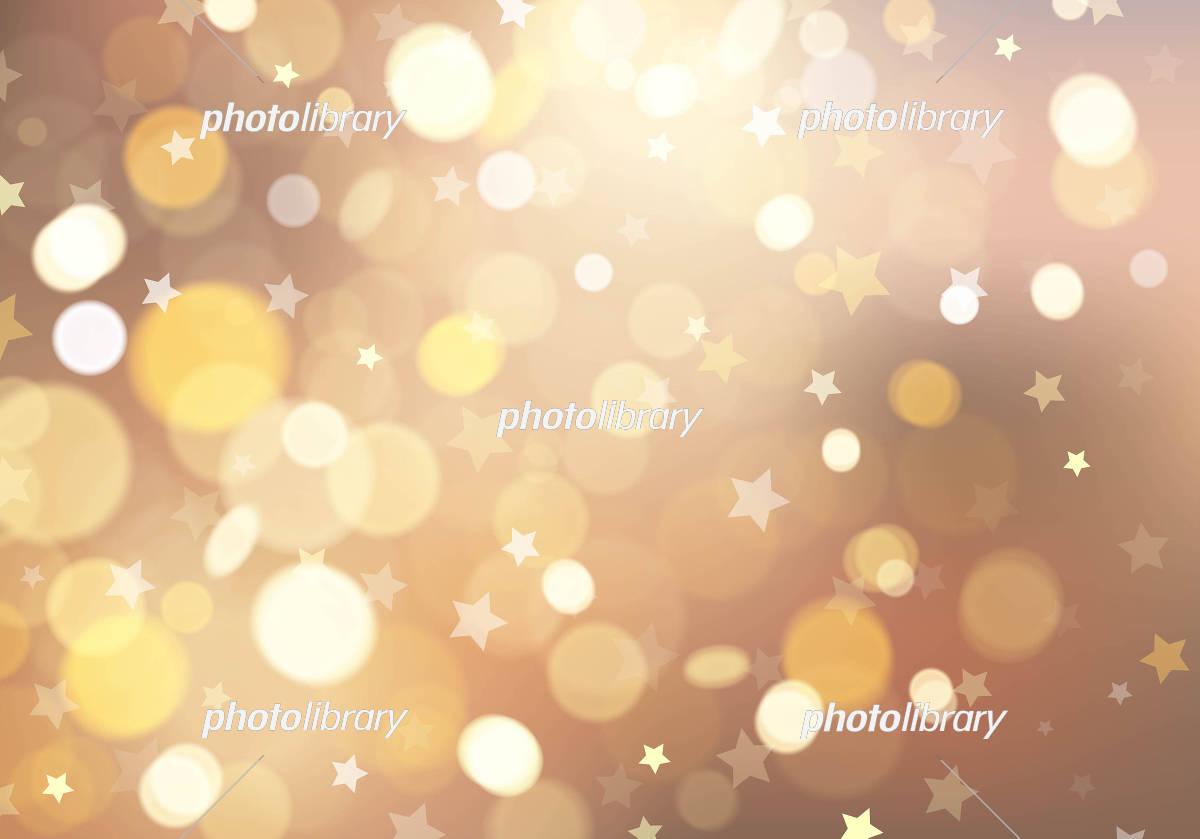 星とイルミネーションの背景素材 イラスト素材 [ 5389649 ] - フォト