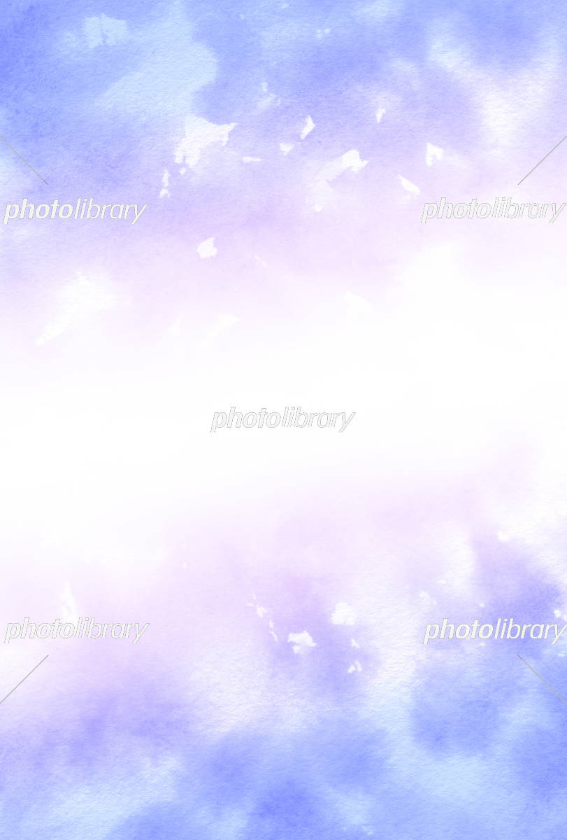 水彩壁紙 紫色 イラスト素材 5390366 フォトライブラリー