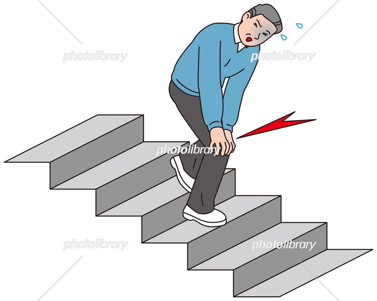 下りる 階段 降りる を